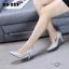 รองเท้าคัทชูหุ้มส้นสไตล์คลาสสิค (สีดำ) thumbnail 2