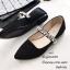 รองเท้าคัทชูซาติน Style MIUMIU (สีดำ) thumbnail 5
