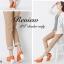 พร้อมส่ง : รองเท้าส้นเตารีดสไตล์ Moccasin (ขาว ฟ้า ส้ม) thumbnail 6
