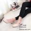 รองเท้าคัทชูส้นแบนแต่งสายรัดคริสตัล (สีครีม) thumbnail 1