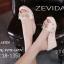 รองเท้าลำลองส้นเตารีดแต่งโบว์ (สีครีม) thumbnail 2