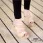 รองเท้าส้นเตารีดกำมะหยี่รัดส้น (สีแดง) thumbnail 9