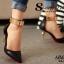 รองเท้าส้นเข็มแต่งทอง (สีครีม) thumbnail 9