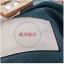 (Pre-order) ชุดผ้าปูที่นอน ปลอกหมอน ปลอกผ้าห่ม ผ้าคลุมเตียง ผ้าไหม ผ้าซาติน และผ้าฝ้าย สีฟ้าขาว แบบทูโทน thumbnail 9