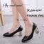 รองเท้าคัทชูส้นฝังเพชร (สีเงิน) thumbnail 8
