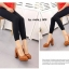 รองเท้าคัทชูส้นตันหัวกลม (สีดำ) thumbnail 7