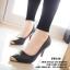 พร้อมส่ง : รองเท้าคัทชู Zara หัวทอง (สีดำ) thumbnail 2