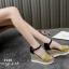 รองเท้าส้นเตารีดแต่งหวาย (สีชมพู) thumbnail 8