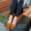 รองเท้าคัทชูหัวแหลมแต่งโบว์ (สีดำ) thumbnail 4