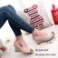 รองเท้าคัทชูส้นเตารีดกำมะหยี่ (สีดำ) thumbnail 6