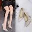 รองเท้าคัทชูผ้าลอนกลิตเตอร์ (สีเทา) thumbnail 9