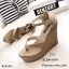 รองเท้าส้นเตารีดแบบคีบ (สีดำ) thumbnail 7