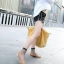 รองเท้าคัทชูทรงหน้าวี Style Tod (สีดำ) thumbnail 8