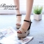 รองเท้าส้นเตารีดทูโทน (สีดำ) thumbnail 3