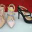 รองเท้า Valentino Heels 2015 (สีครีม) thumbnail 4