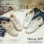 พร้อมส่ง : รองเท้า Oxford ผ้าลูกไม้ (สีน้ำตาล) thumbnail 4
