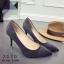 รองเท้าคัทชูส้นเข็ม (สีดำ) thumbnail 4