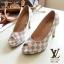 รองเท้าคัทชู Loius Vuitton Damier (สีดำ) thumbnail 2