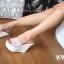 รองเท้า Platform สไตล์เกาหลี (สีขาว) thumbnail 5