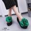 รองเท้าลำลองกุหลาบ (สีเขียว) thumbnail 1