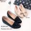 รองเท้าคัทชุหนังนิ่มแต่งชาย (สีดำ) thumbnail 5