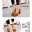 รองเท้าคัทชูส้นตันหัวกลม (สีดำ) thumbnail 6