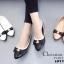 รองเท้าคัทชูหนังนิ่ม Style Dior (สีดำ) thumbnail 2
