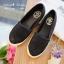 รองเท้าคัทชูลูกไม้ (สีดำ) thumbnail 1