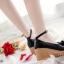 พร้อมส่ง : รองเท้าคัชชูแฟชั่นแต่งโบว์ (สีดำ) thumbnail 2