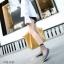 รองเท้าคัทชูทรงหน้าวี Style Tod (สีดำ) thumbnail 3