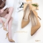 รองเท้าคัทชูส้นสูง Style Dior (สีดำ) thumbnail 5
