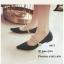 รองเท้าคัทชูซาติน Style MIUMIU (สีดำ) thumbnail 2