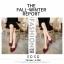 รองเท้าคัทชูสักหลาดนิ่มแต่งโบว์ (สีแดง) thumbnail 4