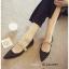 รองเท้าคัทชูซาติน Style MIUMIU (สีดำ) thumbnail 3
