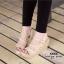 รองเท้าส้นเตารีดกำมะหยี่รัดส้น (สีแดง) thumbnail 10