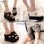 พร้อมส่ง : รองเท้าลำลองส้นเตารีด (สีขาว) thumbnail 3