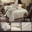 (Pre-order) ชุดผ้าปูที่นอน ปลอกหมอน ปลอกผ้าห่ม ผ้าคลุมเตียง ผ้าลินินเนื้อละเอียดทอลายเพรสลี่ สีคาเมล thumbnail 2