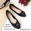 รองเท้าคัทชูส้นแบน Style Dior (สีครีม) thumbnail 3