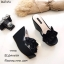 รองเท้าส้นเตารีดแฟชั่นห่อพียู (สีขาว) thumbnail 5