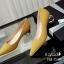รองเท้าคัทชูส้นปรอทเงินสไตล์เกาหลี (สีดำ) thumbnail 11