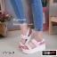 รองเท้า Platform แต่งมุก (สีขาว) thumbnail 2