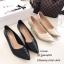 รองเท้าคัทชูหนังนิ่มแต่งลาย (สีดำ) thumbnail 7