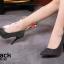 รองเท้าคัทชูผ้าลอนกลิตเตอร์ (สีเทา) thumbnail 6