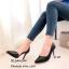 รองเท้าคัทชูหนังสาน (สีครีม) thumbnail 4