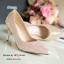 รองเท้าส้นสูงกลิตเตอร์ (สีทอง) thumbnail 2