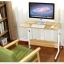 Pre-order โต๊ะทำงานปรับระดับ โต๊ะแล็ปท็อป โต๊ะวางคอมพิวเตอร์ โต๊ะพรีเซนต์งาน เฟอร์นิเจอร์ตกแต่งบ้าน ตกแต่งห้อง ปรับระดับได้ มีล้อเลื่อน สีขาว thumbnail 2
