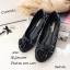 รองเท้าคัทชูส้นแบน Style Chanel (ชมพู) thumbnail 5