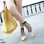 รองเท้าคัทชูทรงหน้าวี Style Tod (สีดำ) thumbnail 6