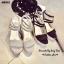 รองเท้าส้นเตารีดพันข้อ (สีเทา) thumbnail 5