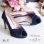 รองเท้าคัทชูซาตินเปิดเท้า (สีครีม) thumbnail 9